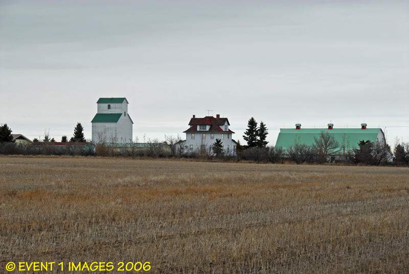 On A Farm North of Tessier Oct 2006