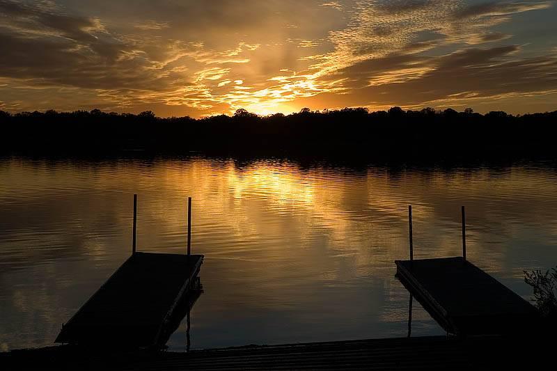 Lake Andrew Sunset 2  ~  September 25  [50]