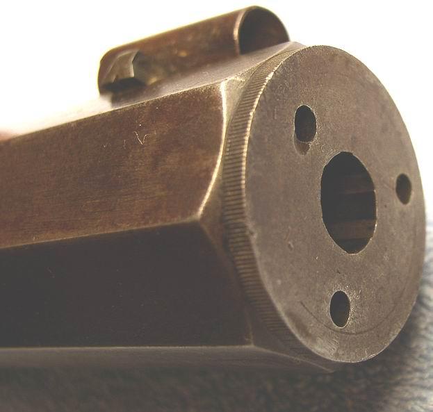 Muzzle and False Muzzle Pin Hole Detail