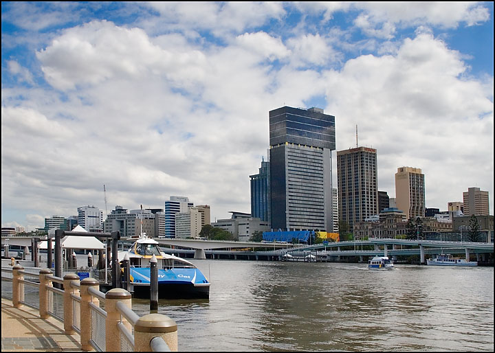 Brisbane City from Southbank
