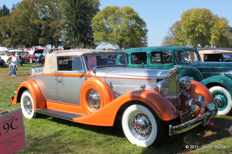 1934 Packard Super 8 Coupe Roadster
