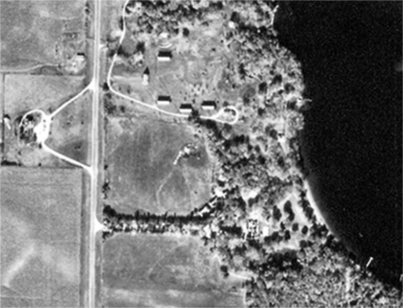 Okoboji Club on Millers Bay 1954