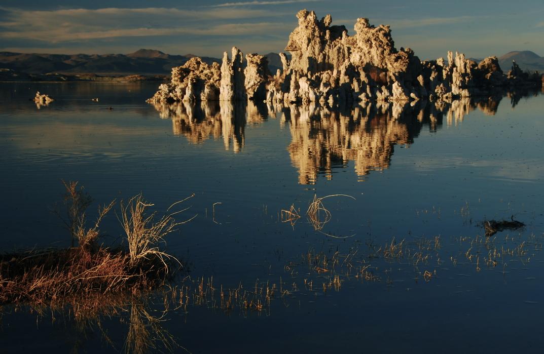 Afternoon Light at Mono Lake