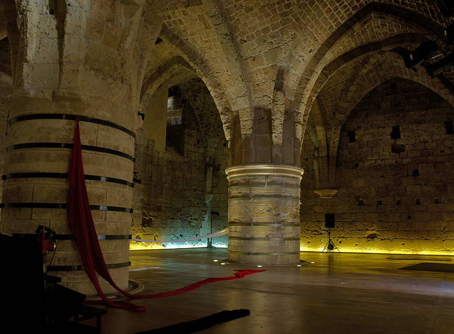 The Knight Halls reconstruction