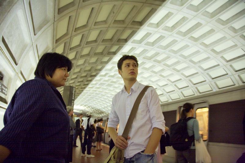 Tatyana and Said - Washington DC