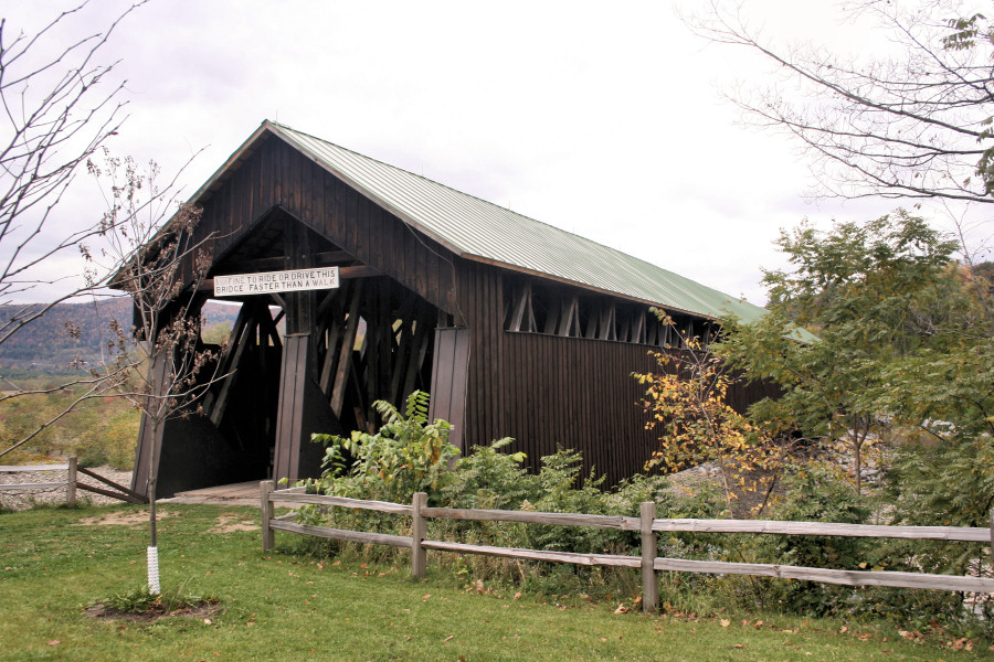 Blenheim Covered Bridge<BR>Pad - October 15, 2006