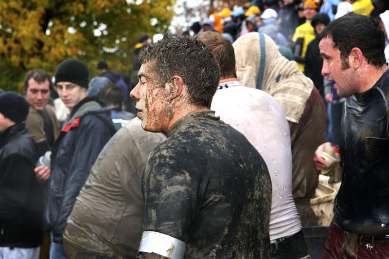 Annual Mud Bowl at the University of Michigan