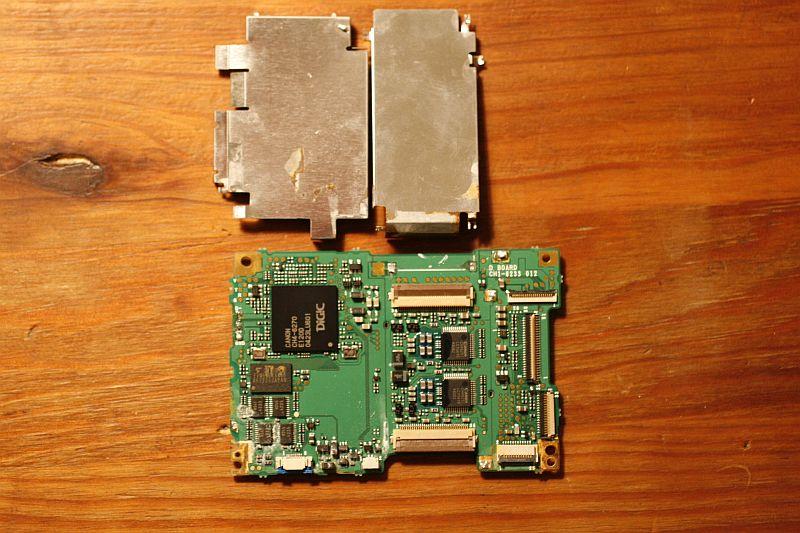Digic circuit-board rear minus cover 1