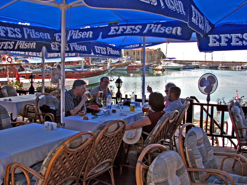 Group at Kyrenia Harbor