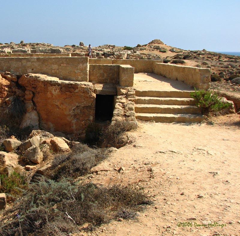 Tombs of the Kings Stairway