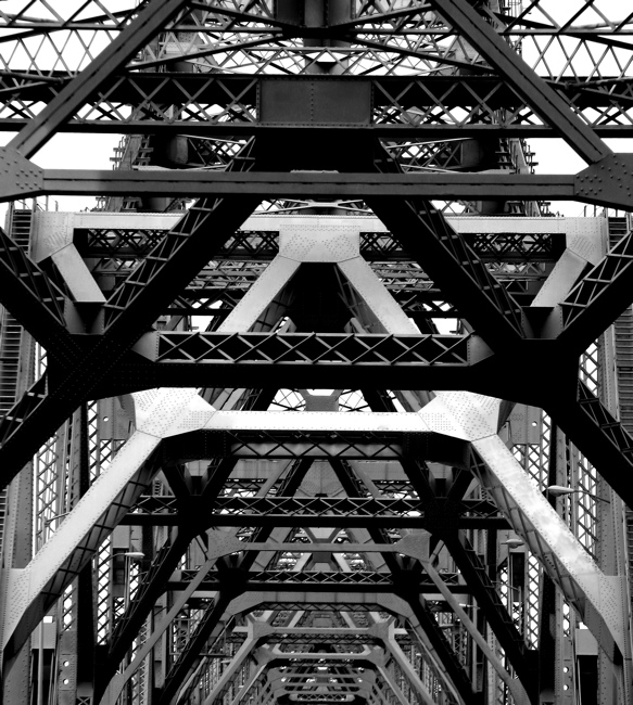 Oakland Bay Bridge Abstract