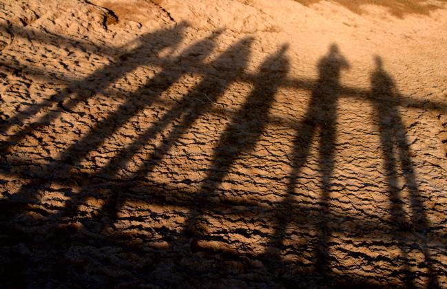 Mud Pot Shadows