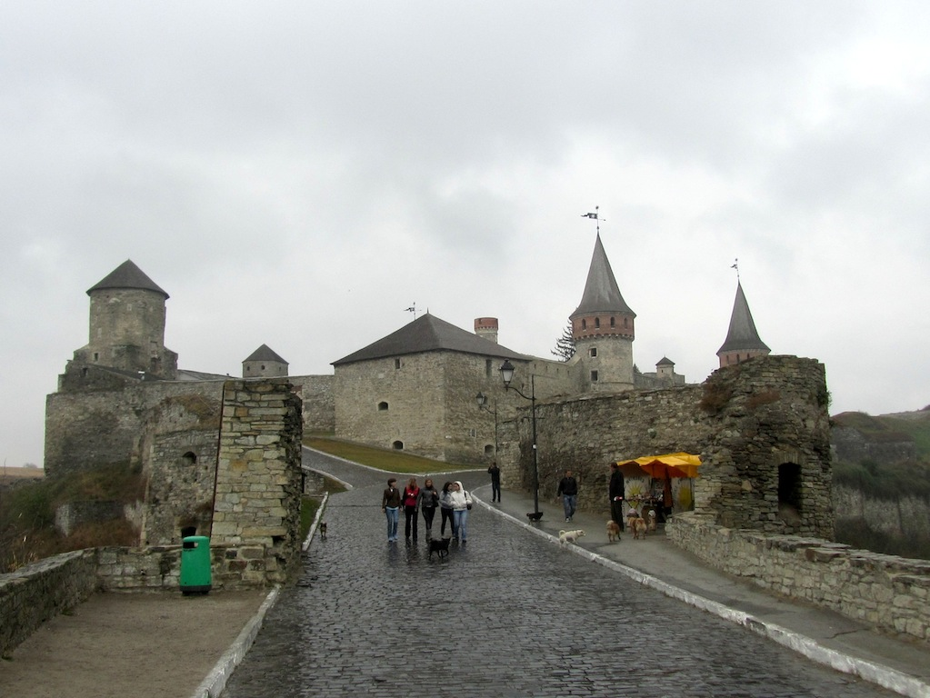then on to Kamanets-Podolsky and its 14th-c. castle, one of the Seven Wonders of Ukraine