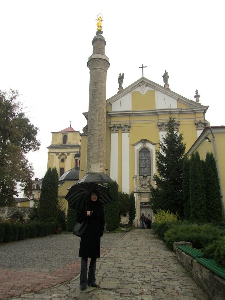 ...with its minaret