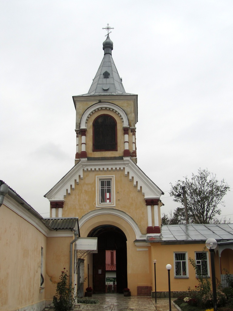 now at the grounds of the 14th-c. St. Nicholas church