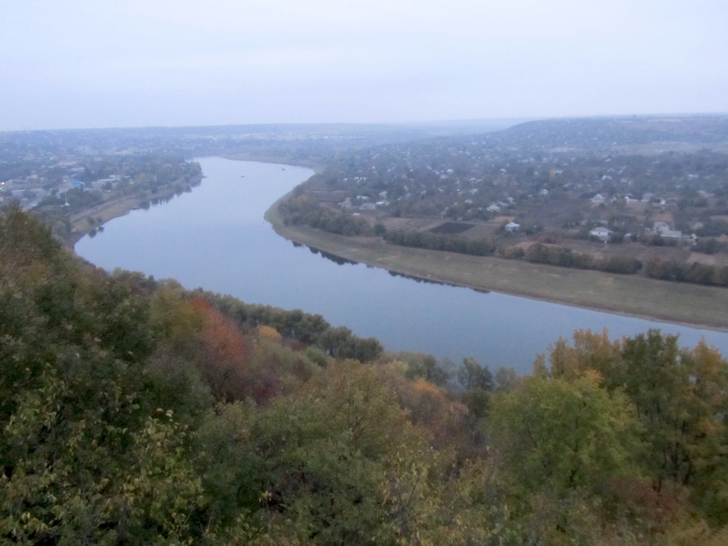 ...to take in views of the Dniester...