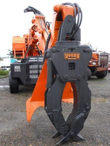 Barko 450 Loader with Young Grapple