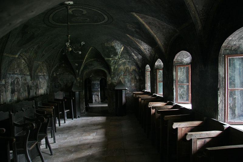in monastery Sinaia