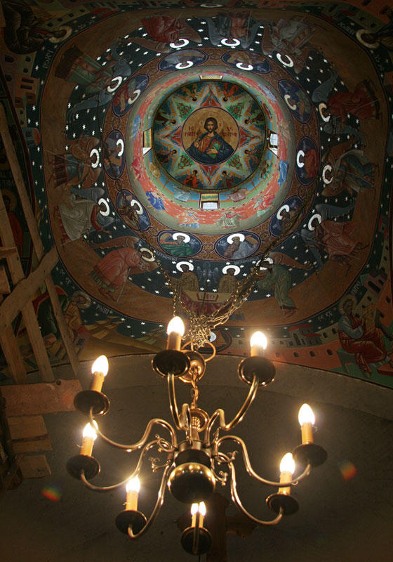 illuminated cupola
