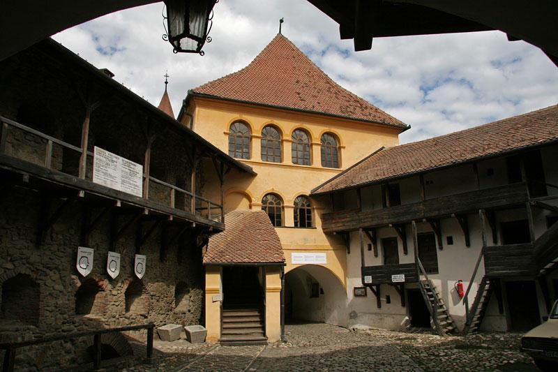 fortified church in Prejmer