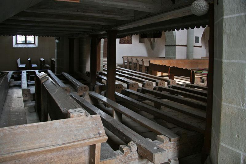 histor.church in Biertan