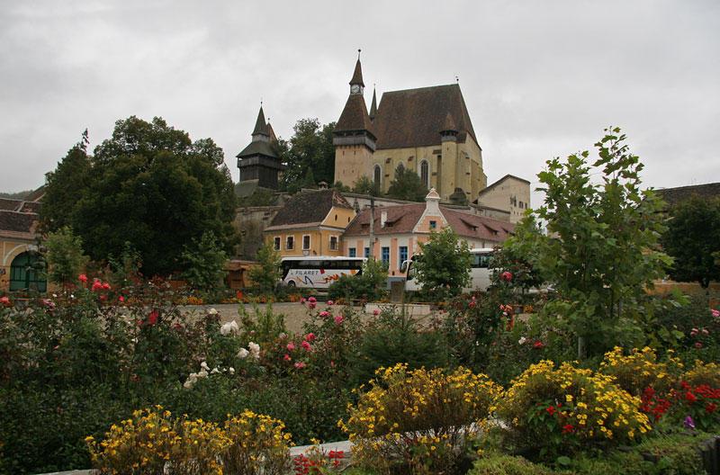 fortified church in Biertan