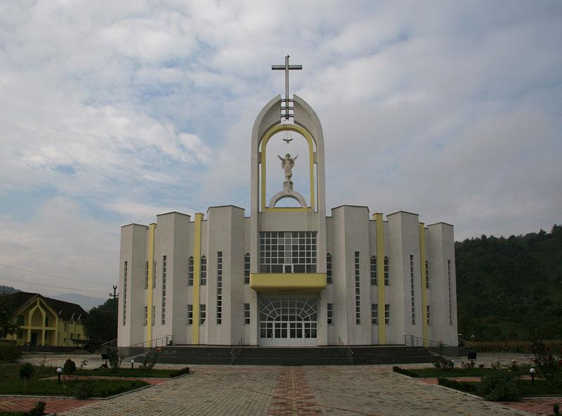 new church, Maramures;Romania