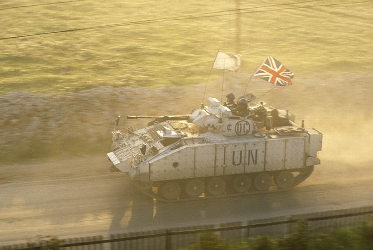 Warrior fighting vehicle