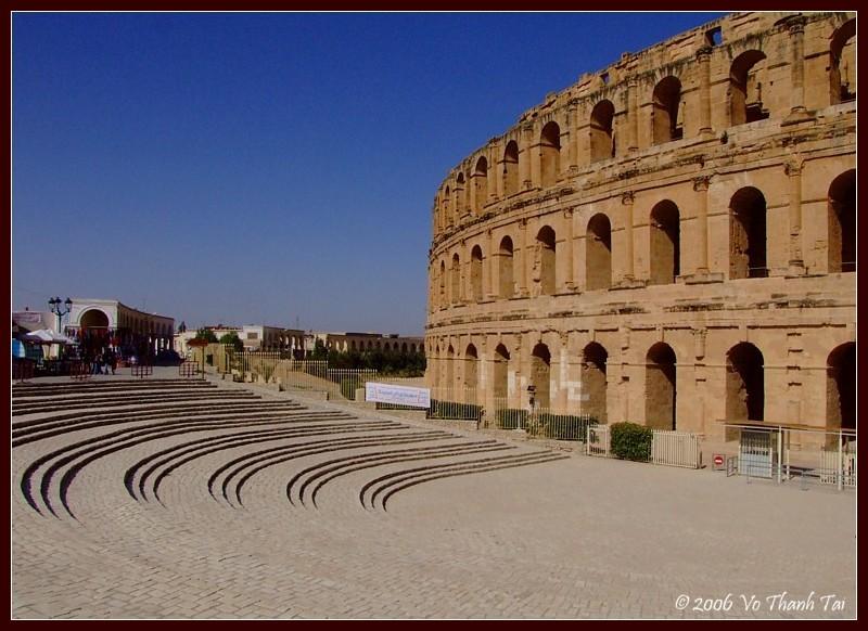 The magnificent Colosseum, El-Jem