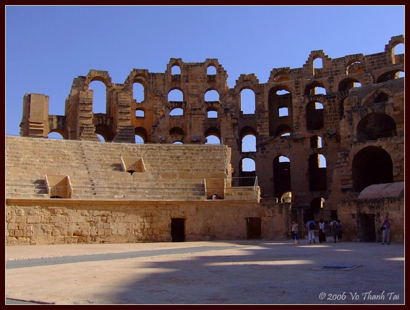 Remnants of Colosseum, El-Jem