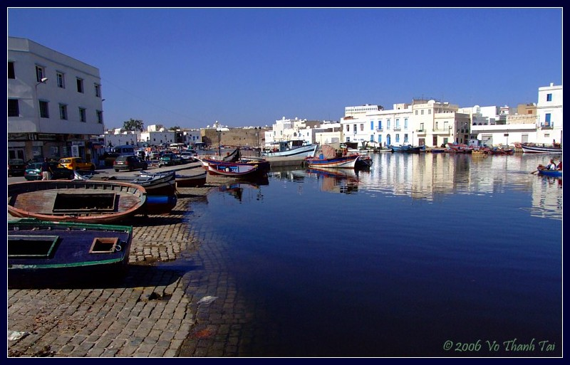 Boats at the old port, Bizerte