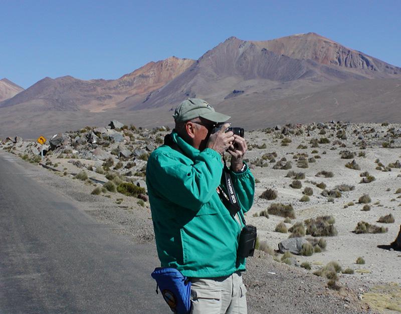 Jim at Lauca National Park