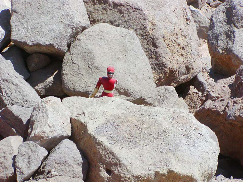 Chile Man guarding the high desert