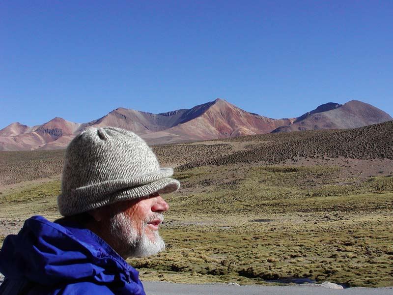 Rick at Lauca National Park