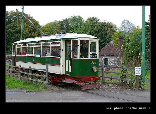 Passing Tram, Black Country Museum