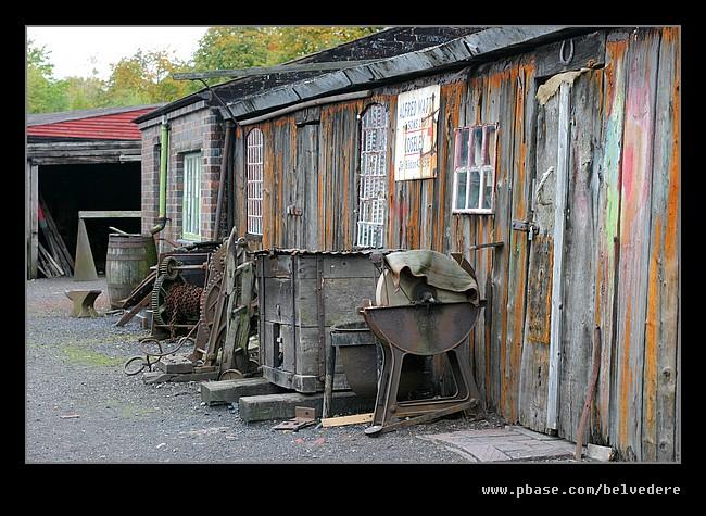 Canal Boat Repair Yard, Black Country Museum