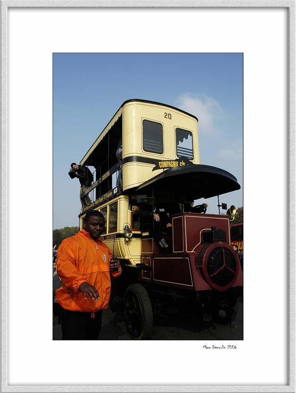 100 years of Paris bus 8