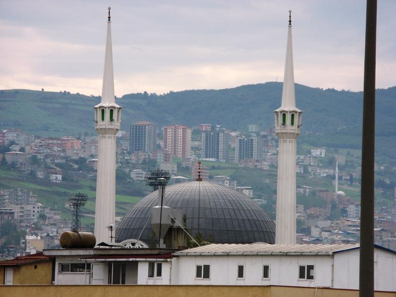 Sanayii Camii Minareleri