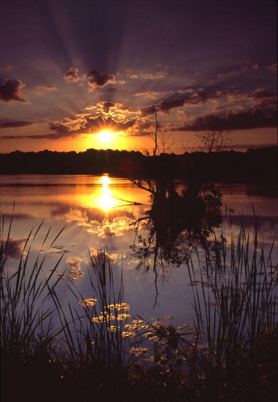 Green Lake WI Sunrise
