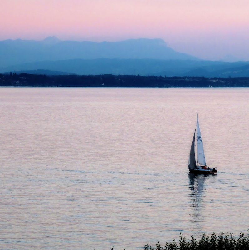 A quiet summer evening...