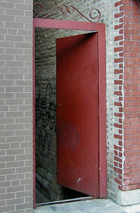 Beyond the Red Door...