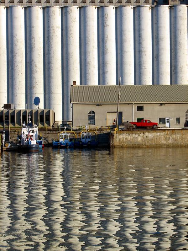 reflet des silos