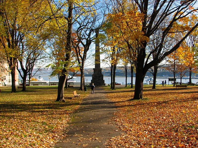 le jardin des gouverneurs en automne