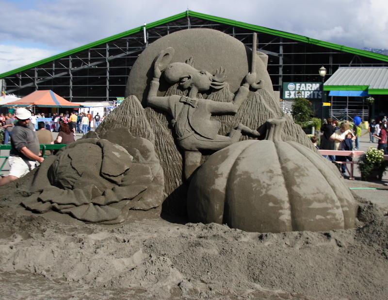 State Fair Sandcastle -- back