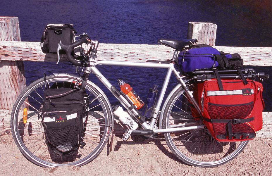 115  Erick - Touring Quebec - Peugeot Alpin Pro touring bike