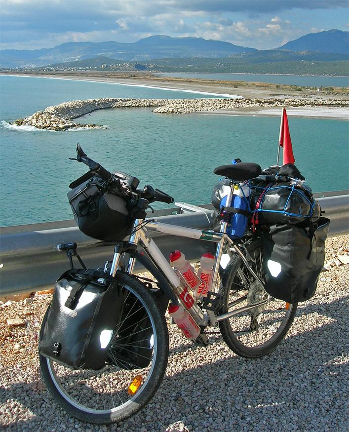 119  Emre - Touring Turkey - Bianchi Orion touring bike
