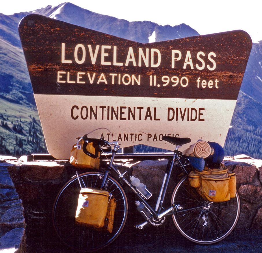 122  John - Touring Colorado - Trek 620 touring bike