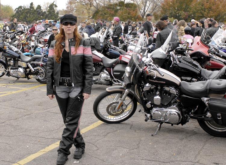 Biker Gal @ Toy Run