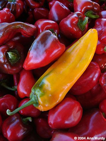 More chiles