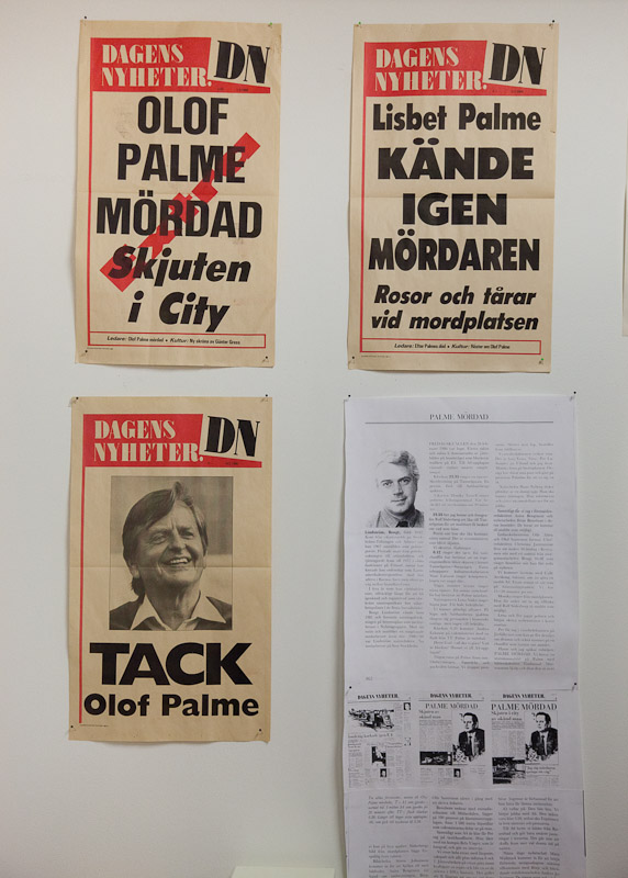 The murder of Olof Palme